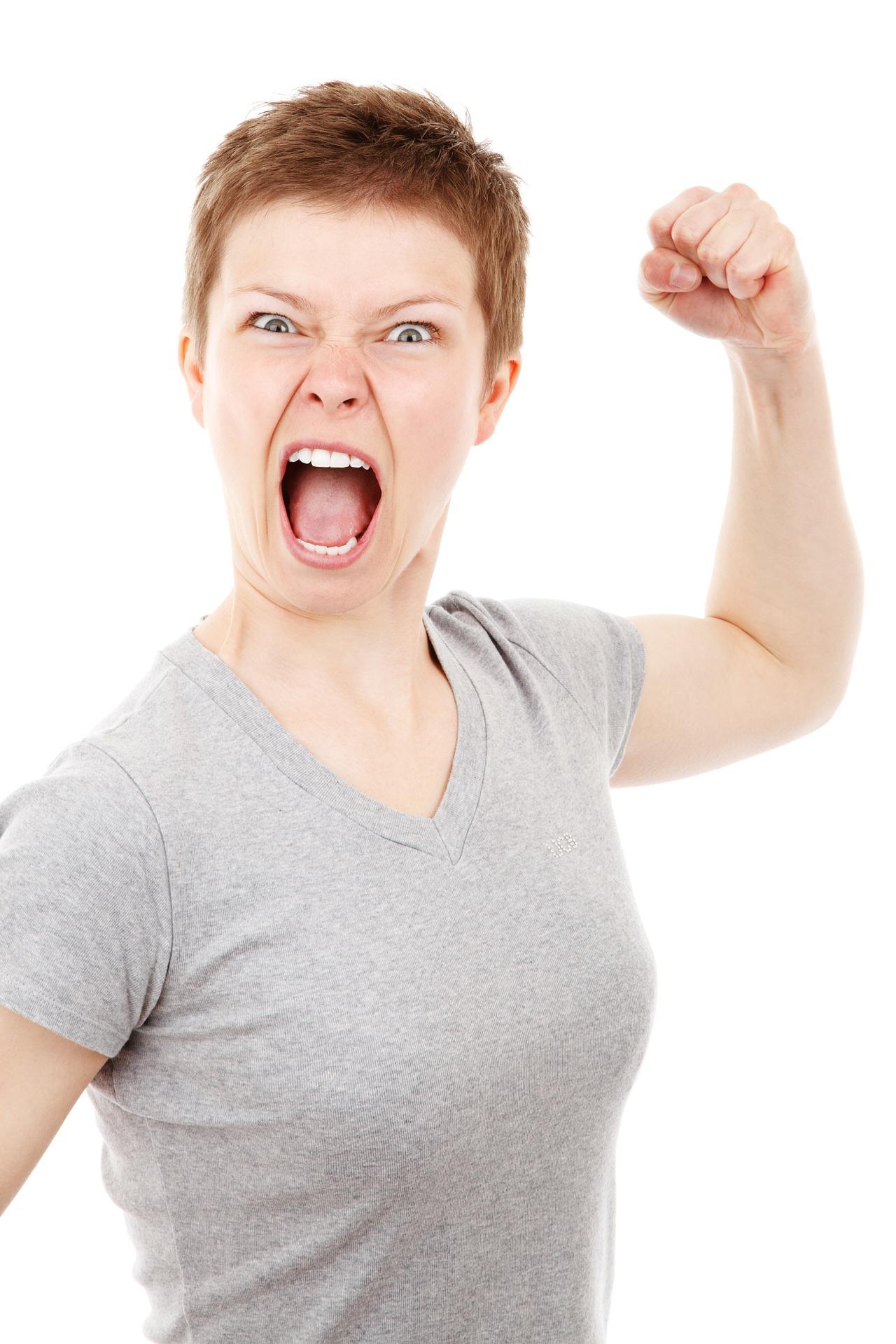 Emotionen Wut Ärger Schlagfertigkeit Kampf Sprachlos Präsentieren Zwischenrufe Einwände