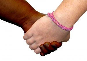 helfende Hände, Aufmerksamkeit Freundschaft Geben networking Netzwerken