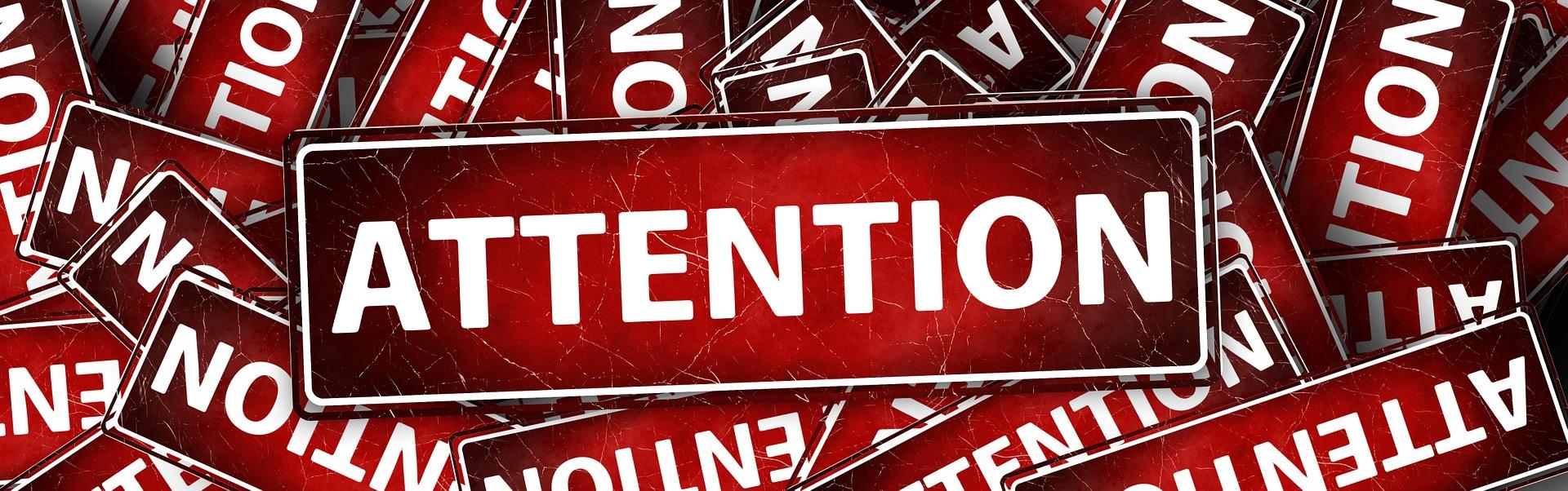 Smalltalk, Aufmerksamkeit, Achtsamkeit, Attention