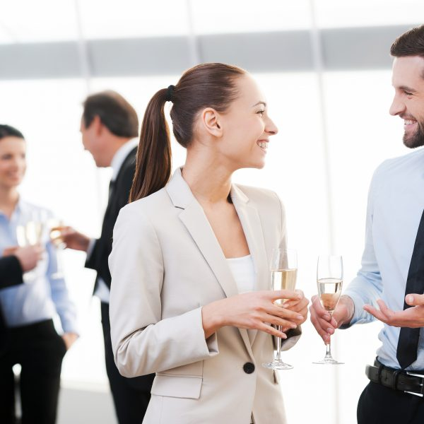 smalltalk, netzwerken, networking, lächeln