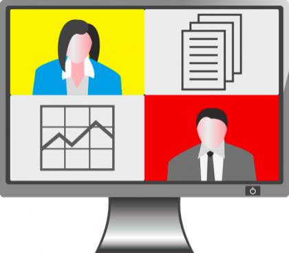 digitale Kommunikation, Videogespräche, Online Gespräche, Kommunikation