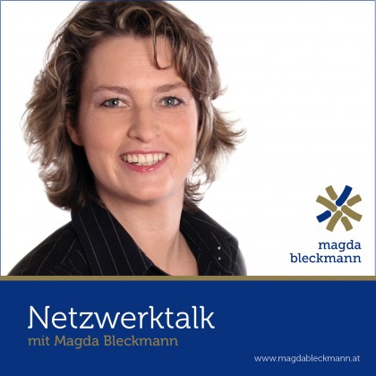 Podcast Cover Netzwerktalk mit Magda Bleckmann