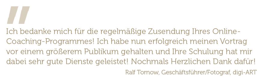 Zitat Ralf Tornow digi-Art