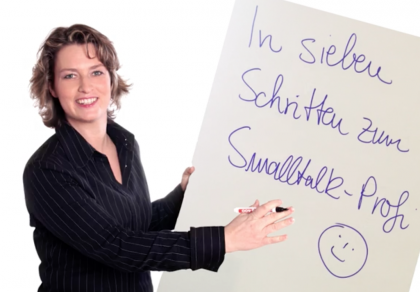 Magda Bleckmann – Ihr Smalltalk-Profi
