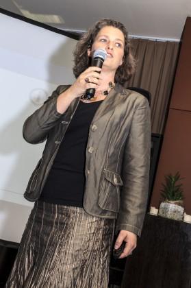 Magda Bleckmann bei Präsentation