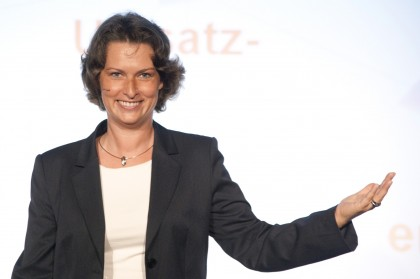 Magda Bleckmann in Aktion