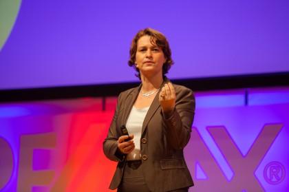 Magda Bleckmann in Aktion bei Remax
