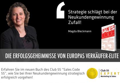 Europas Erfolgsgeheimnisse im Sales Code 55