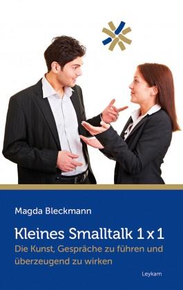 Buchcover Kleines Smalltalk 1x1 Magda Blecmann
